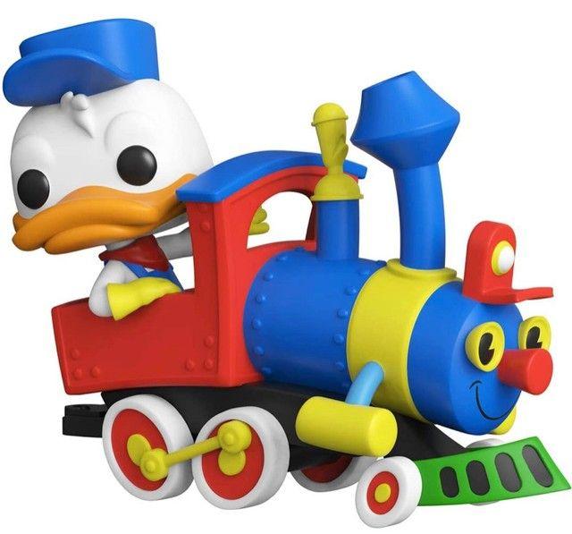 Funko Pop! Disney 65th:  Donald Duck On The Casey Jr. Circus Train Attraction #01 - Foto 2