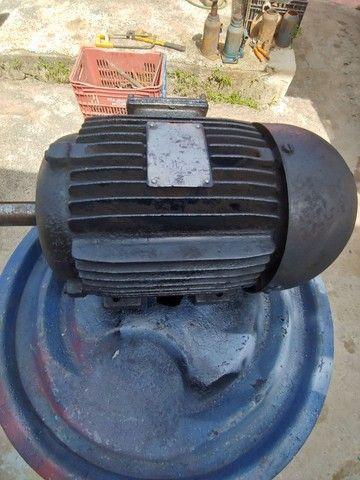 Motor de indução trifásico 3 cv baixa rotação 6 polos 1150 rpm