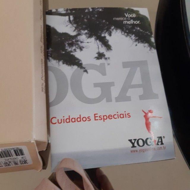 Cinta Pós Parto Yoga Cintura Alta Colchete Lateral - Foto 4