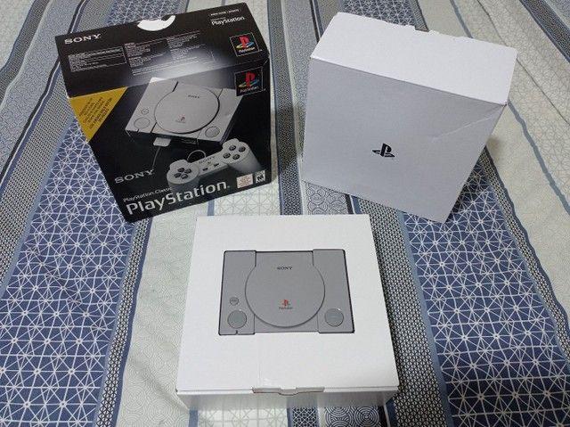 Playstation ps1 classic mini com 20 jogos na memória - Foto 2