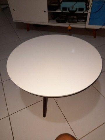 Mesa de centro branca perfeito estado - Foto 3