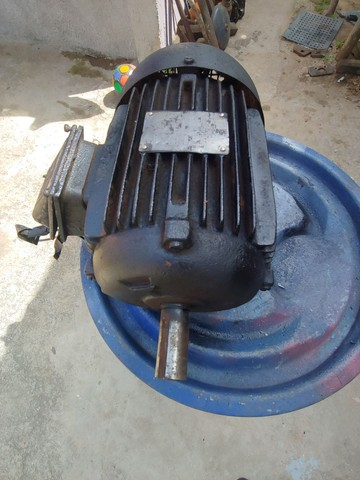Motor de indução trifásico 3 cv baixa rotação 6 polos 1150 rpm - Foto 2