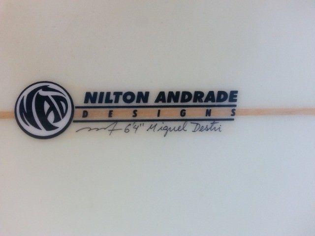 Prancha de surf Nilton Andrade 6'4 - Foto 6