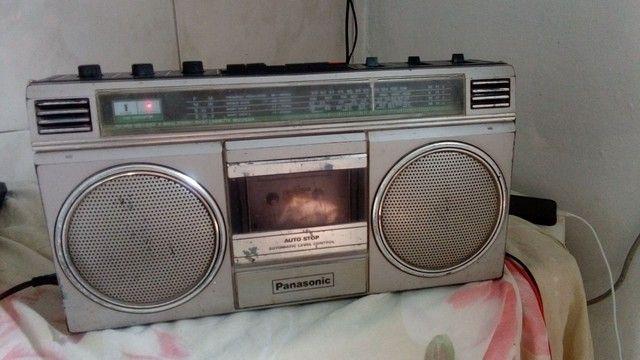 Radio Panasonic gravador - Foto 2