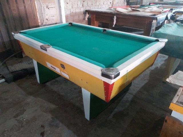 Snooker (Sinuca) reformada completa com jogo de bola etc, tudo na descrição