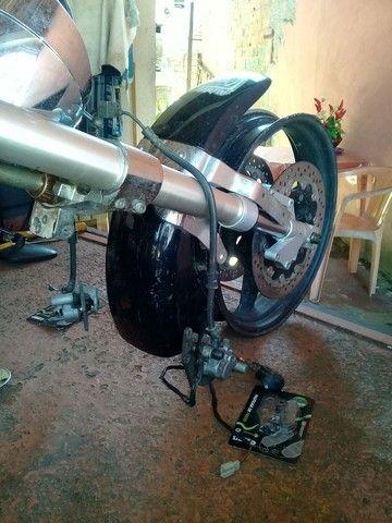 Peça frente de moto kasisnk mirage 650 - Foto 6