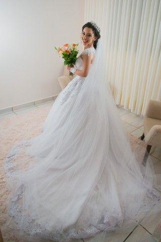 Vestido de Noiva 2 em 1 - Foto 2