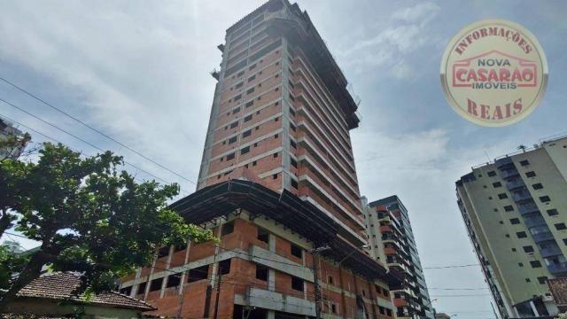 Apartamento com 2 dormitórios à venda, 93 m² por R$ 465.000 - Aviação - Praia Grande/SP