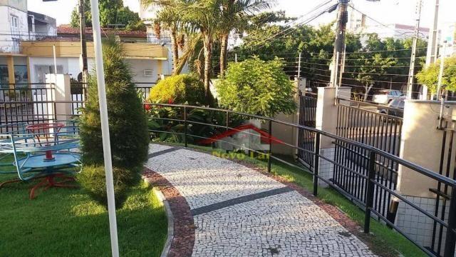 Apartamento com 3 dormitórios para alugar, 113 m² por R$ 1.800,00/mês - Fátima - Fortaleza - Foto 7
