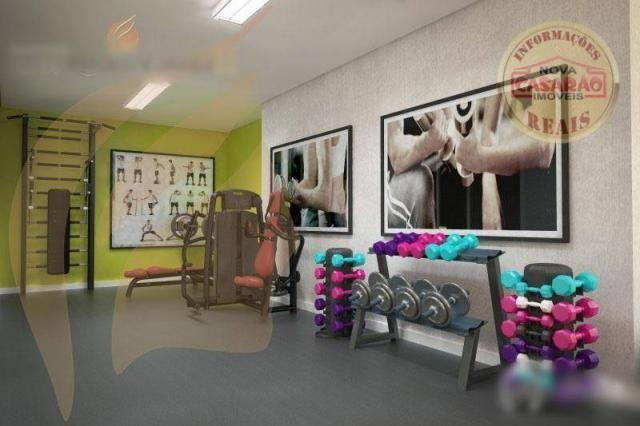 Apartamento com 2 dormitórios à venda, 93 m² por R$ 465.000 - Aviação - Praia Grande/SP - Foto 14