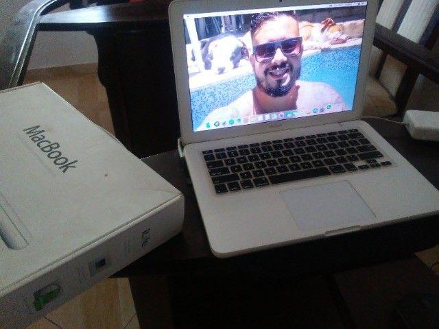 Vendo Mac book muito novo  - Foto 3