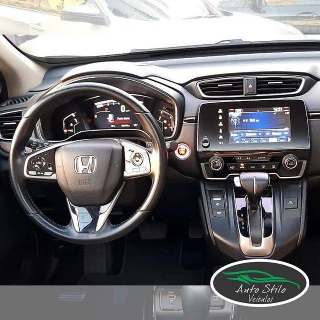 Honda CR-V Touring 2019 Branco Completo  - Foto 7