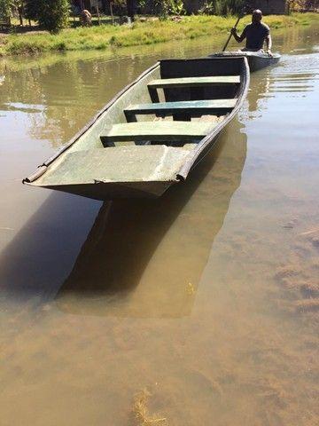 Canoa de fibra 3,5 metro