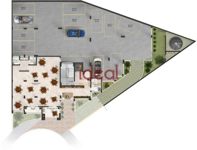 Apartamento à venda, 3 quartos, 1 suíte, 2 vagas, Santo Antônio - Viçosa/MG - Foto 9