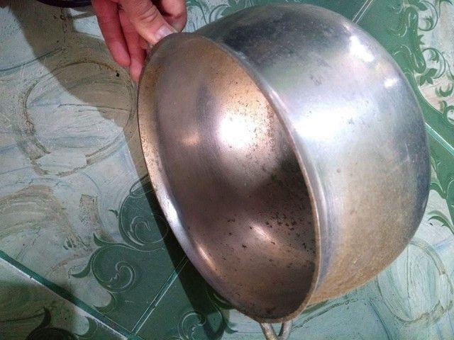 Panela tipo caldeirão alumínio Grosso - Foto 3