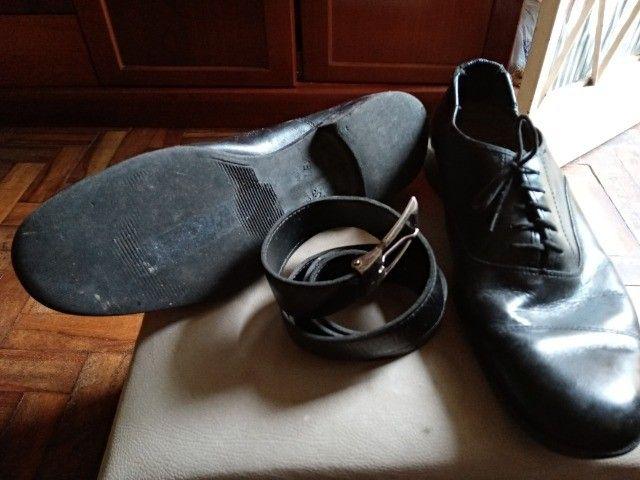 Sapato social masculino Touraflex - Tamanho 43  - Foto 2