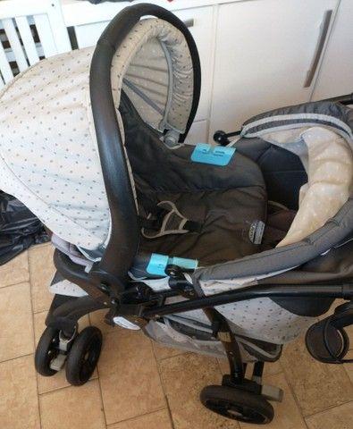 Carrinho com bebê conforto - Foto 3