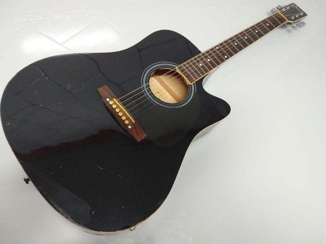 Violão Elétrico Memphis by Tagima modelo Folk MD 18