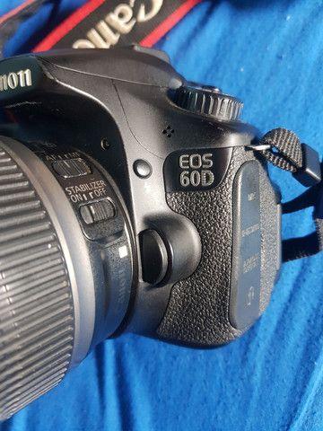 Camera canon 60d + lentes + acessórios