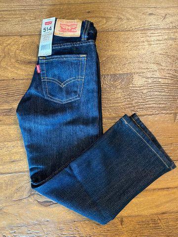 Calça jeans Levi?s infantil e juvenil  - Foto 4