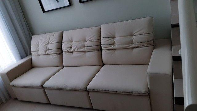 Sofá grande retrátil e reclinável  - Foto 5