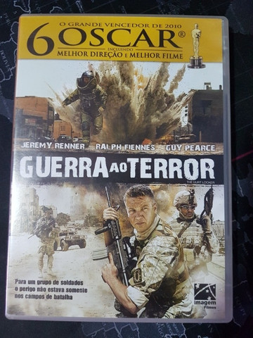 DVD Filme Guerra ao Terror Original