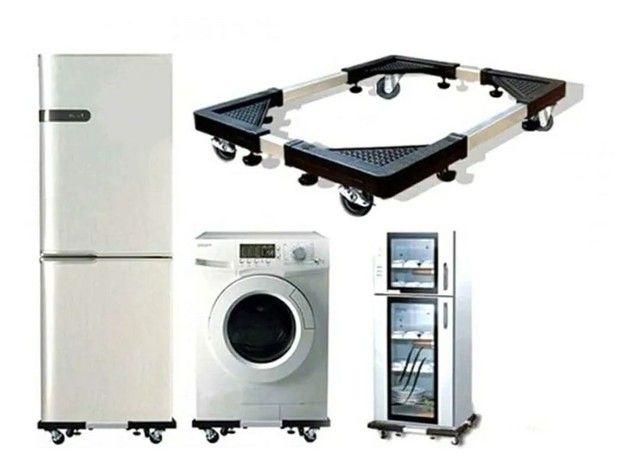 Suporte para geladeira..maquina de lavar e outros ...entrego com 7 dias após ho pedido...  - Foto 6