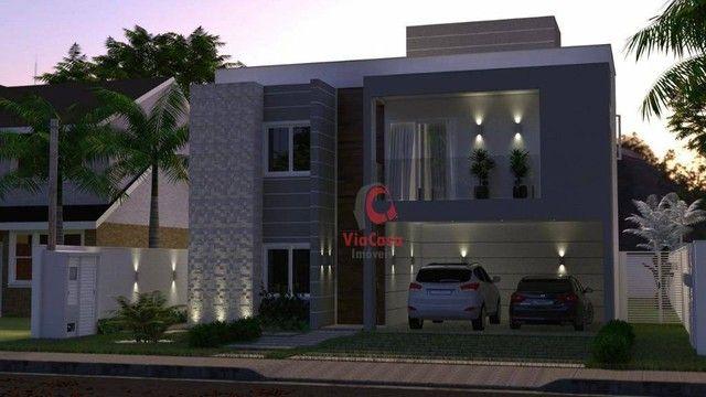 Casa com 4 Quartos Sendo 3 Suítes à venda, 220 m² por R$ 890.000 - Extensão do Bosque - Ri - Foto 9