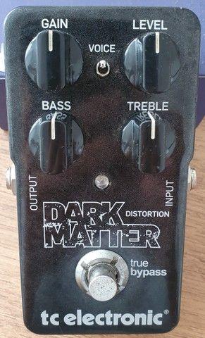 Pedal (usado) Guitarra Dark Matter Distortion - TC Electronic - Foto 4