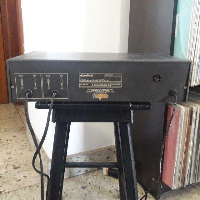 Tape Deck Gradiente ñ Receiver Marantz Sansui CCE Sony Akai Kenwood Technics  - Foto 3