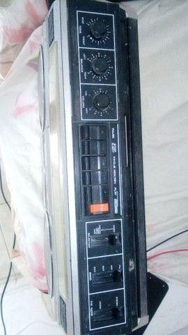 Radio Panasonic gravador