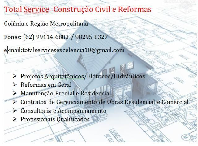 Reformas Residenciais e Comerciais em Goiania