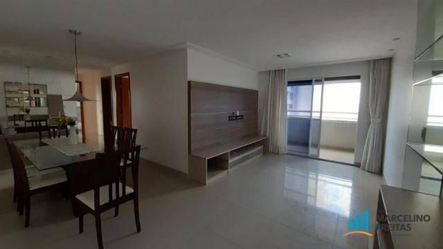Apartamento à venda, 124 m² por r$ 698.000,00 - aldeota - fortaleza/ce - Foto 2
