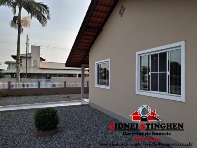 Excelente casa de esquina, na praia de Bal. Barra do Sul - SC. - Foto 11