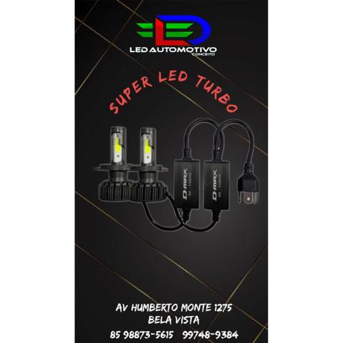 Super Led Turbo 8000 Lumens reais- Modelo mais novo do Mercado