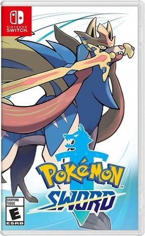 Pokemon sword lacrado midia fisica ate 12x no cartao