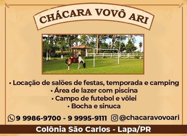 ALUGO Chácara com piscina e muito lazer para férias e temporada - Foto 9