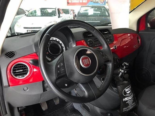 Fiat 500 Cult 1.4 Evo Flex 2015 38 mil km (Sport) - Foto 13