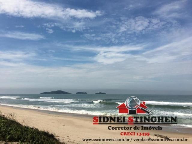Confira. Ótimo terreno amplo, de frente ao mar, em Bal. Barra do Sul - SC - Foto 8