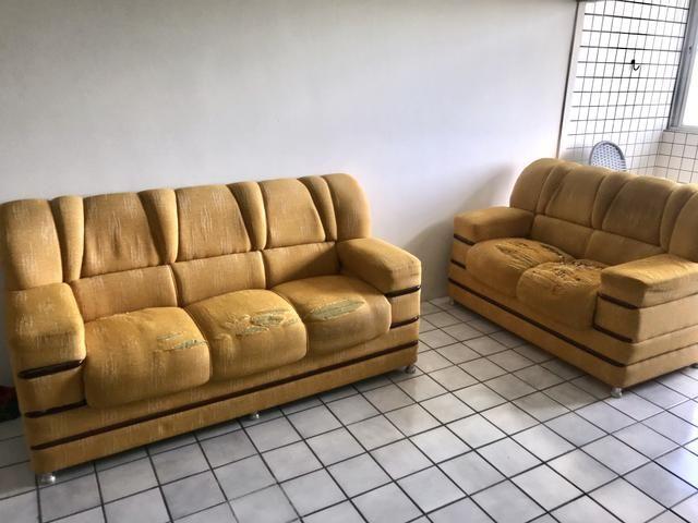 Conjunto de Sofá elegantes de madeira alta qualidade - Foto 2