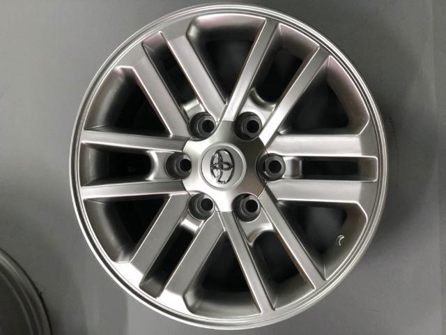 Rodas Aro 17 Toyota Hilux Original SRV Pintura Hiper Prata