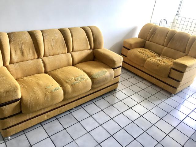 Conjunto de Sofá elegantes de madeira alta qualidade