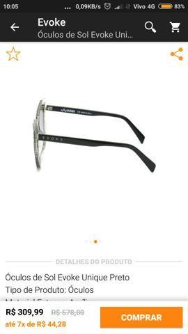 Óculos de sol Evoke feminino - Bijouterias, relógios e acessórios ... c596bbbadd