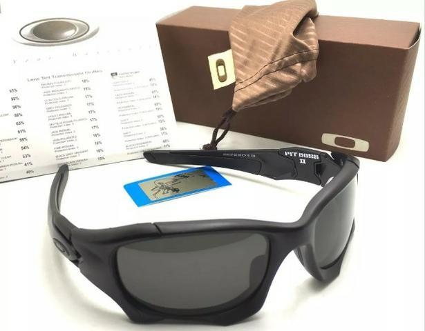 a8600d636a73a Óculos de sol Oakley Elite Pitboss 1 e Pitboss 2, Lentes Polarizadas Hdo,  armação