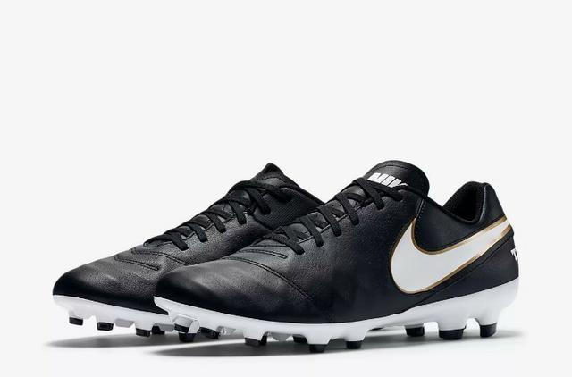 Chuteira Original Nike Tiempo Genio Leather II Campo - Esportes e ... 1322245b627b0