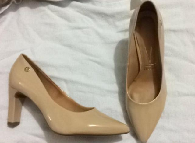 Sapato Feminino Scarpin Bico Fino Vizzano - Roupas e calçados ... 31b154cb14aad