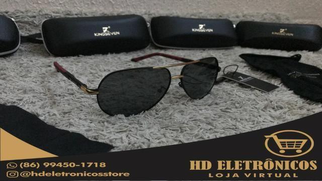 c731c2ec295d4 Óculos De Sol Masculino Original Kingseven Promoção - Bijouterias ...