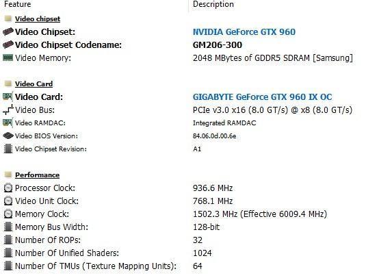 Placa de video nvidia GTX 960 2Gb GDDR5 Gigabyte IX OC - aceito uma mais  simples também