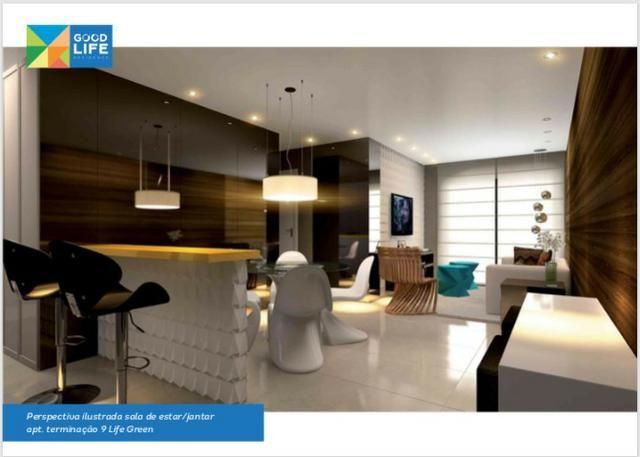 Quarto/Sala no Edifício Good Life, localização na Jatiúca e obras aceleradas! - Foto 2