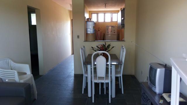 Apartamento Barra de São Miguel, 2 quartos c/ ar condicionado, varanda e piscina - Foto 7